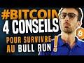 BITCOIN : 4 conseils pour survivre au bull run !
