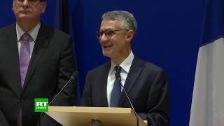 PERNOD RICARD Conférence de presse du procureur antiterroriste Jean-François Ricard à Paris