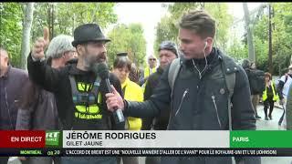 Jérôme Rodrigues : «L'important c'est les gens, ceux qui marchent, qui sont là depuis 49 actes»