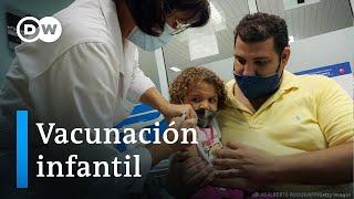 Argentina vacuna a niños entre 3 y 11 años