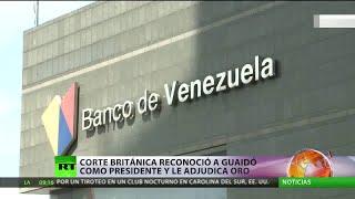 GOLD - USD Corte británica deniega a Venezuela la devolución de oro para la compra de alimentos y medicinas