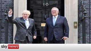 AMP LIMITED UK & Australia agree free trade deal