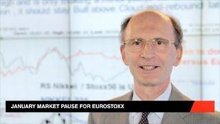 ESTOXX50 PRICE EUR INDEX EuroSTOXX pausa em janeiro