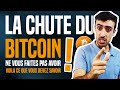 Bitcoin - BITCOIN : NE VOUS FAITES PAS AVOIR ! (#Bitcoin crash)