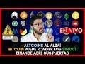 Bitcoin - ALTCOINS AL ALZA!  BITCOIN PUEDE ROMPER LOS $8400? BINANCE ABRE SUS PUERTAS!