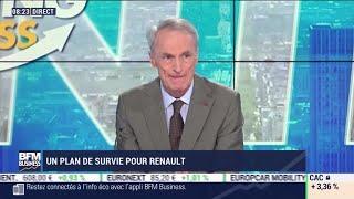 RENAULT Jean-Dominique Senard (Renault) : Renault, un prêt de 5 milliards d'euros garanti par l'État ?