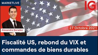 CAC40 INDEX Analyse des marchés 11h - 27/10/2021  (CAC40 DAX30 SP500 DOWJONES NASDAQ100...)
