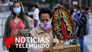 Peregrinos se adelantan al cierre de la Basílica en CDMX | Noticias Telemundo
