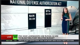 Pro-War Lawmakers Use Russia-Scare to Bloat Military Budget