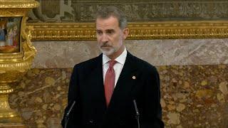 """Rey ensalza """"avance imparable como sociedades democráticas"""" de España y Corea del Sur"""