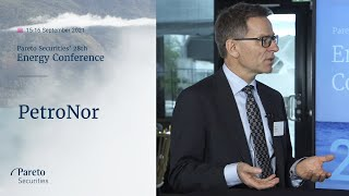 PetroNor: Pareto Securities 28th Annual Energy Conference