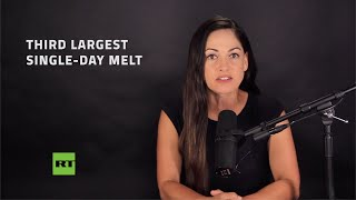 Massive melting event strikes Greenland ice