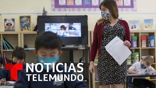 La educación híbrida está trayendo más problemas de los esperados | Noticias Telemundo