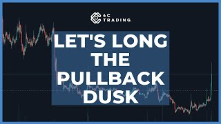 Market Analysis of May 25 2020: Let's long the pullback DUSK