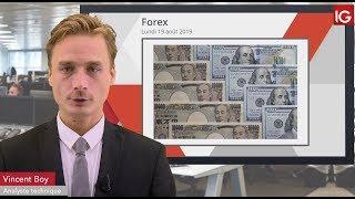 USD/JPY Bourse -  USDJPY, évolue toujours dans son range- IG 19.08.2019