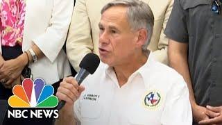 ABBOTT LABORATORIES 'Keep El Pasoans In Your Prayers,' Asks Texas' Gov. Abbott | NBC News