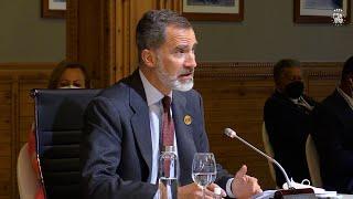 El Rey reivindica la cooperación iberoamericana