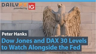 DAX30 PERF INDEX Dow Jones and DAX 30 Levels to Watch Alongside the Fed
