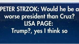 Fox News obtains explosive texts between Strzok, FBI lawyer
