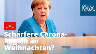 Schärfere Corona-Regeln an Weihnachten? Kanzlerin Merkel informiert