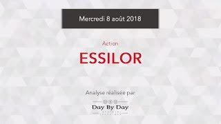 ESSILORLUXOTTICA Action Essilor : le titre évolue sur de nouveaux records - Flash analyse IG 08.08.2018