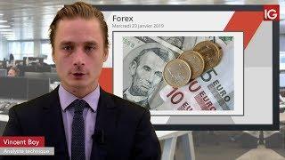 EUR/USD Bourse - EURUSD, vers un retour sur 1,1300 - IG 23.01.2019