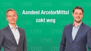 ARCELORMITTAL SA Aandeel ArcelorMittal zakt weg | LYNX