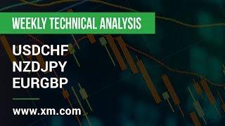 EUR/GBP Weekly Technical Analysis: 02/12/2019 - USDCHF, NZDJPY, EURGBP