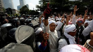 Six dead and hundreds injured after unrest following Indonesia election result