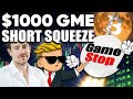 GME Short Squeeze in July!! Gamestop to Hit $1000!? It's Inevitable....
