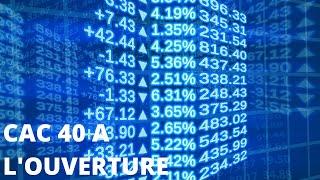 CAC40 INDEX « CAC 40 : Des marchés attentistes »