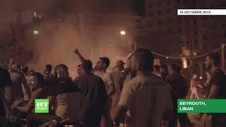 Liban : incendies, gaz lacrymogènes et affrontements à Beyrouth