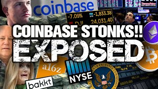 BREAKING! Coinbase Goes Wall St. w/ NYSE Listing!! Good or Bad News??