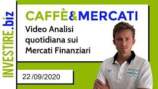 EUR/USD Caffè&Mercati - EUR/USD sul supporto a 1.1750