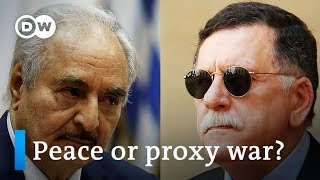 Libya peace conference in Berlin: What's at stake? | DW News