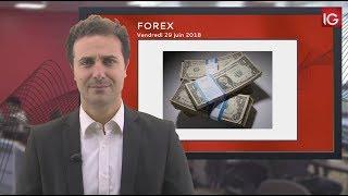 NZD/USD Bourse - NZD/USD, cassure de l'oblique - IG 29.06.2018