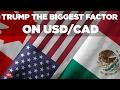 USD/CAD и Трамп