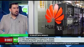 La 5G mise en place par Huawei à Monaco - Où en est souveraineté technologique française ?