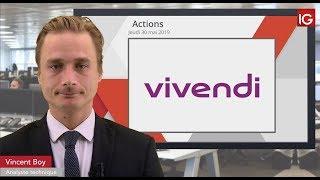 VIVENDI Bourse - VIVENDI, nouvel échec sous la MM100 - IG 30.05.2019