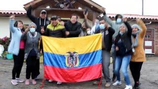 GOLD - USD Carapaz lleva la medalla de oro a Ecuador y el orgullo a su familia