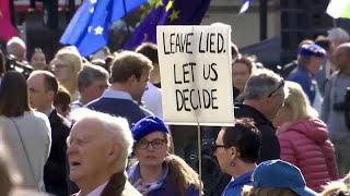 """Сотни тысяч противников """"брексита"""" на улицах Лондона"""