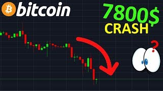 BITCOIN BITCOIN LE CRASH COMMENCE !? btc analyse technique crypto monnaie