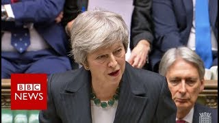 Theresa May defends planned Brexit deal - BBC News