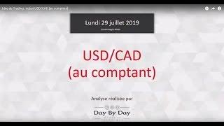 USD/CAD Idée de Trading : achat USD/CAD [au comptant]