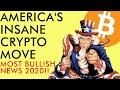 BREAKING! USA MAKES HISTORICALLY EPIC BITCOIN MOVE! ETHEREUM 2.0 SOON? Crypto News 2020