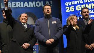 Itália: Eleições na Emilia Romagna e Calábria