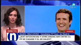 Díaz Ayuso: 'Madrid no puede quedar en manos de la izquierda'