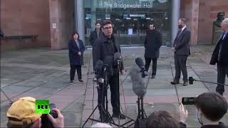 LIVE | Manchester Mayor Andy Burnham gives press conference following collapse in lockdown talks