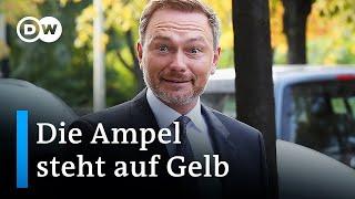 FDP für Aufnahme von Koalitionsverhandlungen mit SPD und Grünen | DW Nachrichten
