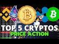 Bitcoin (BTC), Ethereum (ETH), Ripple (XRP), Binance (BNB), Bitcoin Cash (BCH) - PRICE ACTION